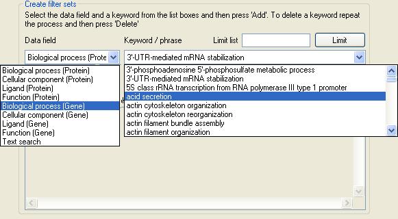 AgileGeneFilter Screenshot 9