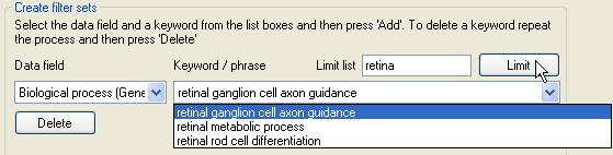 AgileGeneFilter Screenshot 10