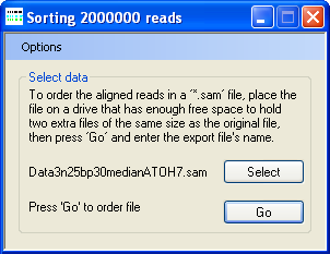 AgileSAMFileSorter Screenshot 3